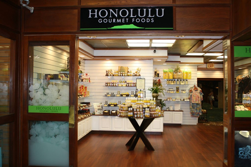 Honolulu Gourmet Foods in the Pacific Beach Hotel, Waikiki, Honolulu